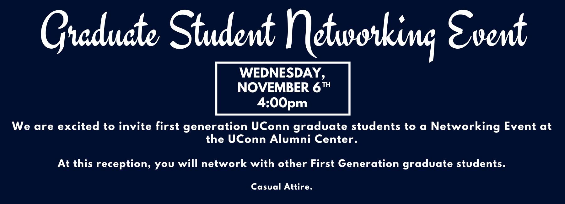 f 19 graduate student invitation